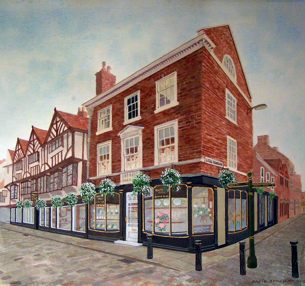 ONE OF YORK'S FINEST, MULBERRY HALL, STONEGATE painted by DAVID APPLEYARD