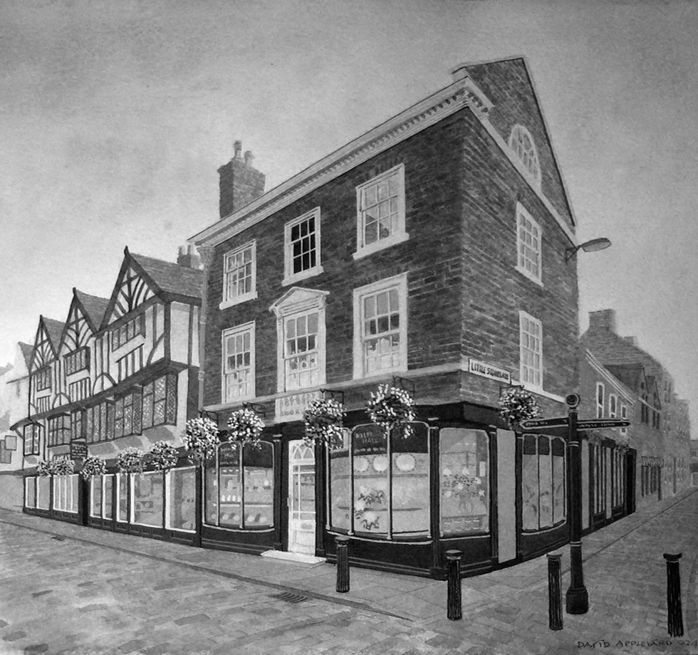 ONE OF YOK'S FINEST, MULBERRY HALL painted by DAVID APPLEYARD