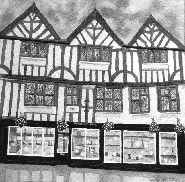 ONE OF YORK'S FINEST, MULBERRY HALL painted by DAVID APPLEYARD